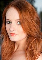 redhead green eyes Nude